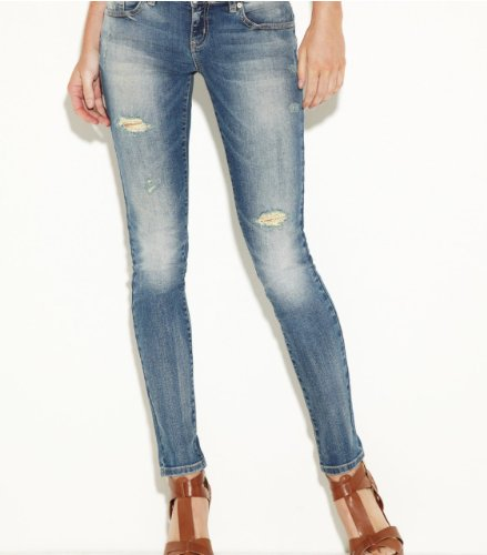 G by GUESS Women's Suzette Super Skinny Jeans - Medium Vint